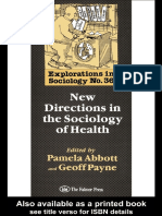 33747289 New Directions in the Sociology of Health[1]