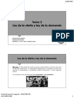 Maestria - Ley de La Oferta y Ley de La Demanda ACTUALIZACION