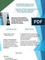 APRESENTAÇÃO_Analise de Estrutura Vertical Metálica_10 D