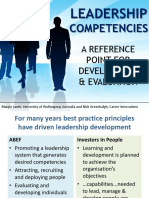Leadership Competencies MJantti