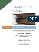 Bloques y Poleas