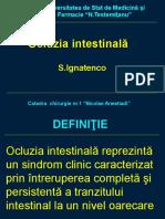 Ocluzia intestinală anul IV.ppt