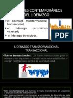 Enfoques Contemporáneos Del Liderazgo