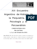Primera Circular Encuentro de Historia Psi 2015