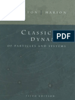 Classical Dynamics of Particles and Systems - Marion, Thornton.pdf
