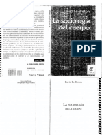 David Le Breton - La sociología del cuerpo.pdf