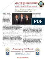 October 2013 LDS BSA Newsletter