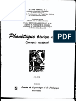 Phonétique française