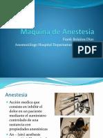 2. Maquina de Anestesia y Circuitos Anestésicos