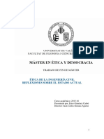 Ética de La Ingeniería Civil