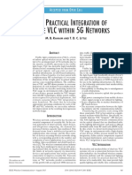 Toward Practical Integration of Dual-use VLC Within 5G Networks