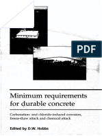 -Minimum Requirements for Durable Concrete_ Carbonation- And Chloride-Induced Corrosion, Freeze-thaw Attack and Chemical Attack-British Cement Association (1998)