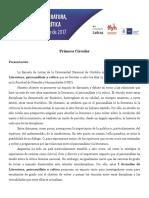 I Jornadas Literatura Psicoanálisis y Crítica Primera Circular(1).pdf