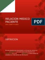 Relacon Medico Paciente 2017