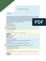 Quiz Neuropsicologia
