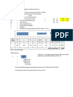 Perhitungan Penurunan Bangunan (Concolidation Settlement)