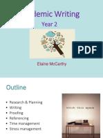 Academic Writing 2nd Years