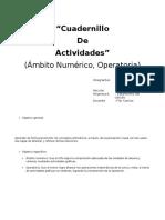 Cuadernillo de Actividades (Calculo)