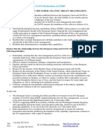 EU–NATO Declaration of 2002