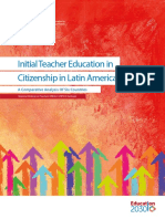 Initial Teacher Education in Citizenship - UNESCO