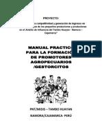 Manual de Capacitación de Promotores Agropecuarioss