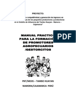 Manual de Capacitación de Promotores Agropecuarioss