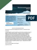 Curso de Electrocardiografía Básica 2017