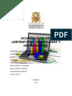 Ocupabilidad Del Laboratorio de Maquinas y Herramientas_car