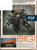 KTM 950 Magazine Article