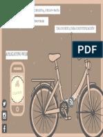 Simple Brown Bike Vintage Postcard.pdf