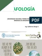 Edafología Parte I universidad Nacional Toribio Rodriguez de Mendoza