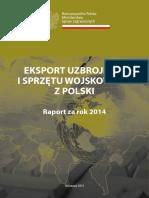 2014 PL - Eksport Uzbrojenia