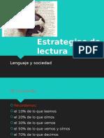 Las Estrategias de Lectura