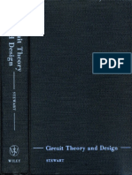 Circuit Theory and Design John L. Stewart 1956