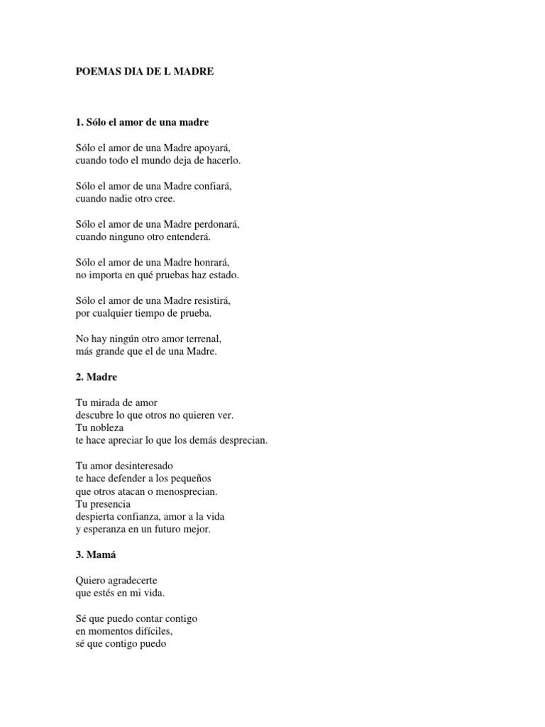 15 Poemas A La Madre