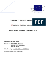 Rapport de Stage Liquidation