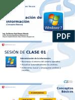 Sesión01 Administración de la información