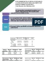 Jurnal Faktor-faktor Yang Berhubungan Dengan Kejadian Hipertensi Pada Lansia