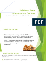 Aditivos Para Elaboración de Pan