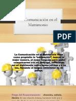 Comunicación en El Mat. Los 5 Leng.del Amor