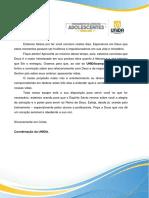 Carta Aluno Unidacamp - Líderes