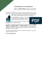 Unidad de Medidas Convencionales y No Convencionales