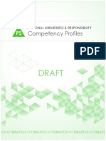 Personal Awareness Responsibility Competency Profiles