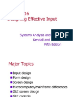 Chap16 - Designing Effective Input