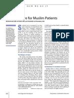 Palliative Care Muslim