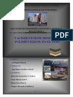 98262968 Principales Yacimientos Polimetalicos Del Peru