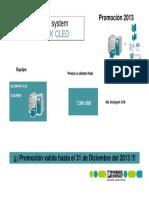 Bluemark CLED Precios Cliente Final 2013