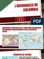 Fallas Regionales de Colombia. (2)