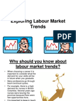 notes - exploring labour market trends