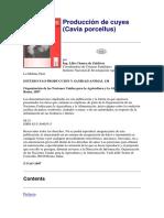 12. Producción de Cuyes L. CHAUCA FAO